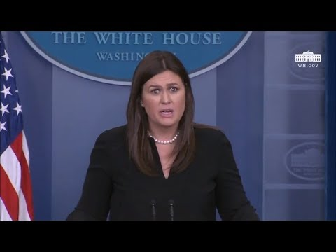 4/4/18: White House Press Briefing