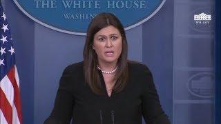 4/4/18: White House Press Briefing
