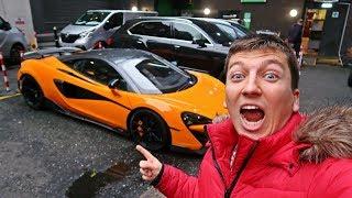 Pojechałem Jaguarem do Londynu zobaczyć auta warte miliony!