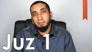 Take Allah's Commands Seriously [Juz 1] - Nouman Ali Khan
