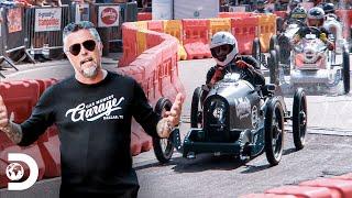 Richard acelera a fondo en carrera de autos antiguos | El Dúo mecánico | Discovery Latinoamérica
