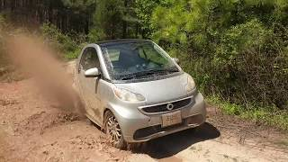 How much fun can you have with an electric smart car?