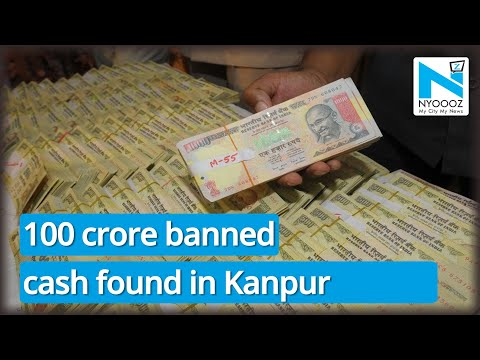 Nearly Rs. 100 crore 'bed of banned cash' found at Kanpur home