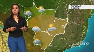 Previsão Centro-Oeste – Aumento de umidade em MT e MS