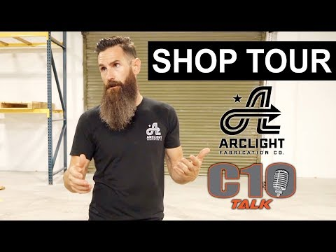 Aaron Kaufman & C10 Talk - PART 6 SHOP TOUR