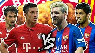 Barcelona vs. Bayern Munich! Who Will Win The Champions League? | FFO