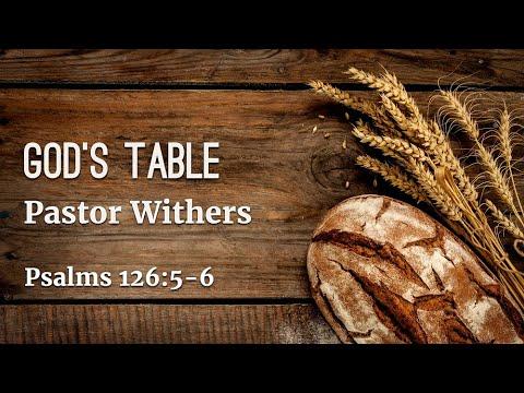 God's Table (8/8/2021)