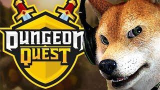"Roblox Dungeon Quest!🐺! Team Bork!? 🦊!"" 🐾🐕read description!🐕🐾"""