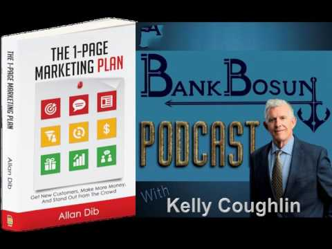 Bank Marketing Ideas in One Page by Allan Dib, Best Selling Author