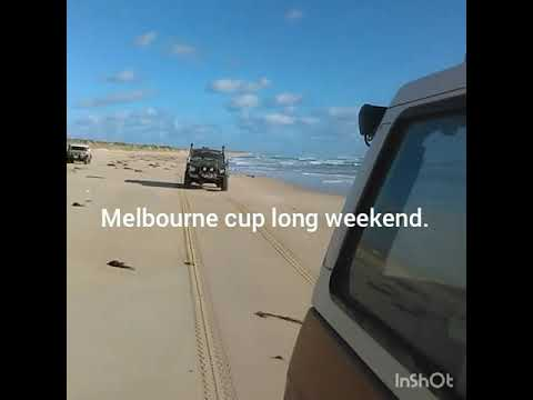 Melbourne cup long weekend 4wding carpenter rocks to beachport.