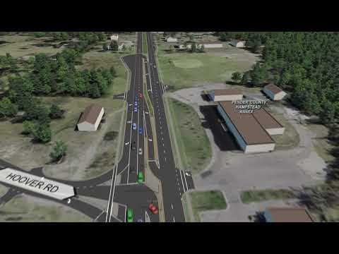 U.S. 17 Hampstead Bypass & Military Cutoff Road Extension Visualization