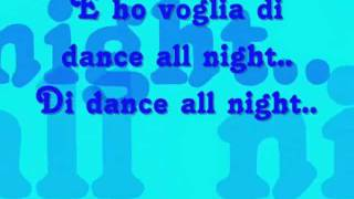 Voglia Di Dance All Night - Eiffel 65 (testo)