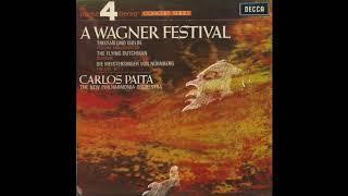 Silent Tone Record/ワーグナー音楽祭/トリスタンとイゾルデ,愛の死,オランダ人,ニュルンベルクのマイスタージンガー/カルロス・パイタ指揮ニュー・フィルハーモニア管弦楽団