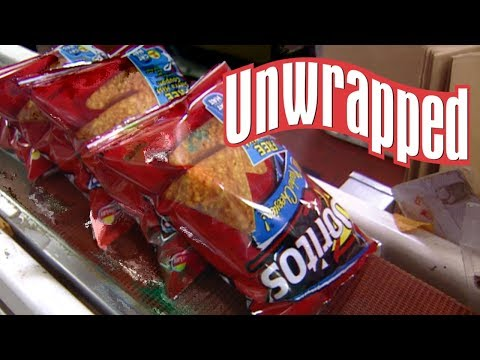 This Is How DORITOS Are Made (from Unwrapped) | Food Network