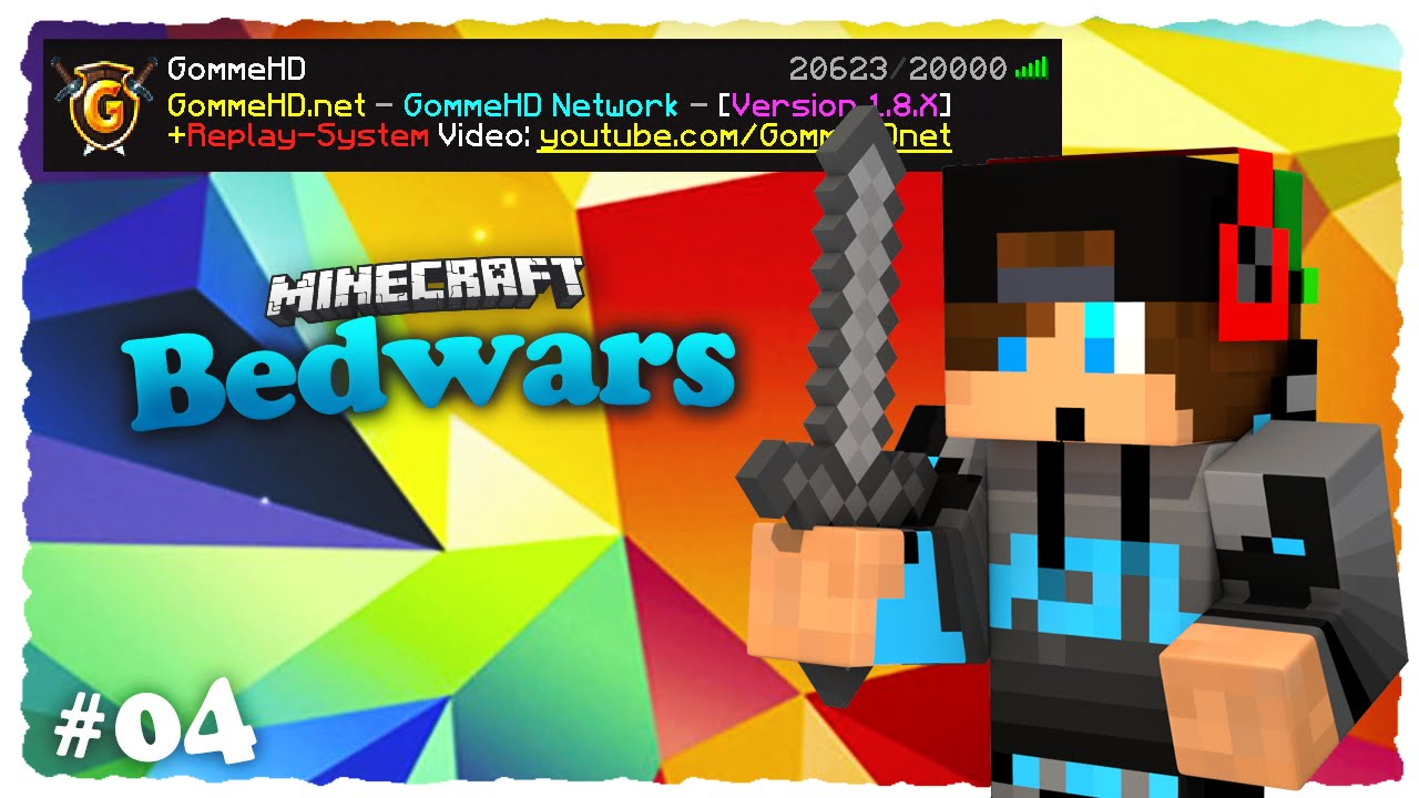 Minecraft Bedwars   Replay Plugin   #004 [Michanisman ...
