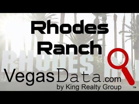 Rhodes Ranch Golf Community - Las Vegas, NV
