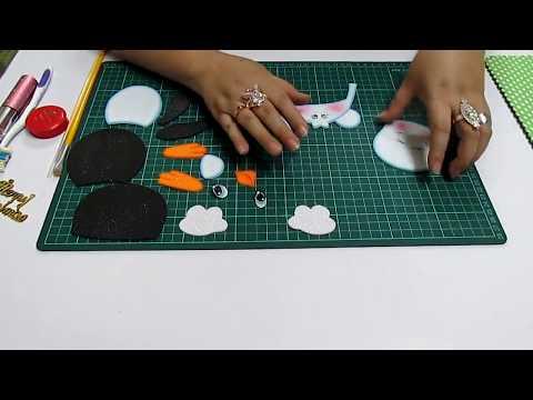 DIY Pinguino en Fomi, Goma Eva, Microporoso, Easy Crafts