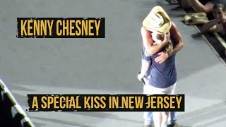kenny chesney kisses fan in new jersey
