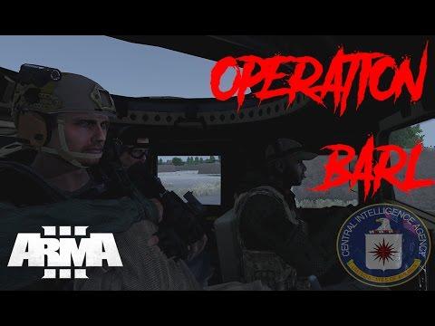 ARMA 3: CIA SPECIAL ACTIVITIES DIVISION (SAD) OPERATORS- OPERATION BARL