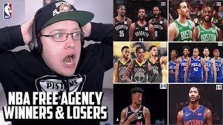 Reacting To The Biggest Winners And Losers Of 2019 NBA Free Agency
