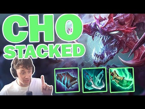 ♥ CHO'GATH STACKED - TFT - Sp4zie Weekly #43