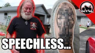 I GOT A TATTOO OF MY DAD! & HIS REACTION!