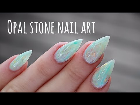 Tutorial Opal Nail Art Youtube
