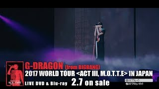 G-DRAGON - Untitled, 2014 (2017 WORLD TOUR [ACT Ⅲ, M.O.T.T.E] IN JAPAN)