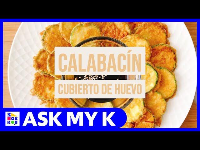 Ask My K : Las Coreanitas - Korean Pan-Fried Zucchini Recipe