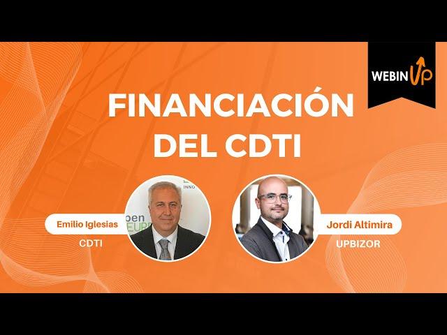 Comentamos las ayudas del CDTI - WebinUP 11