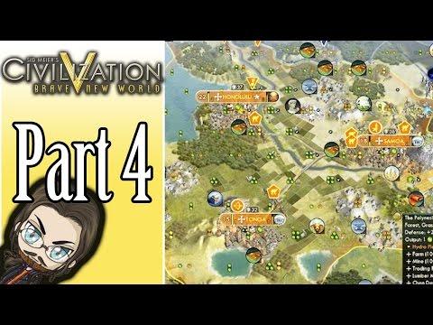 Civilization 5 - Polynesia - Casual Streams - Part 4