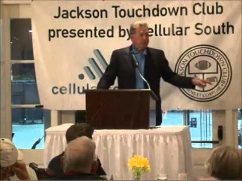 Jackson Touchdown Club 50th anniversary celebration Ole Miss vs LSU Pt.  8