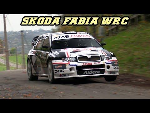 Skoda Fabia WRC - Anti-lag Turbo And Backfire Sounds
