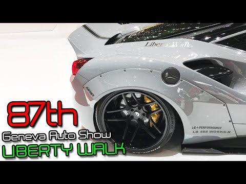 87th Geneva Auto Show | LIBERTY WALK