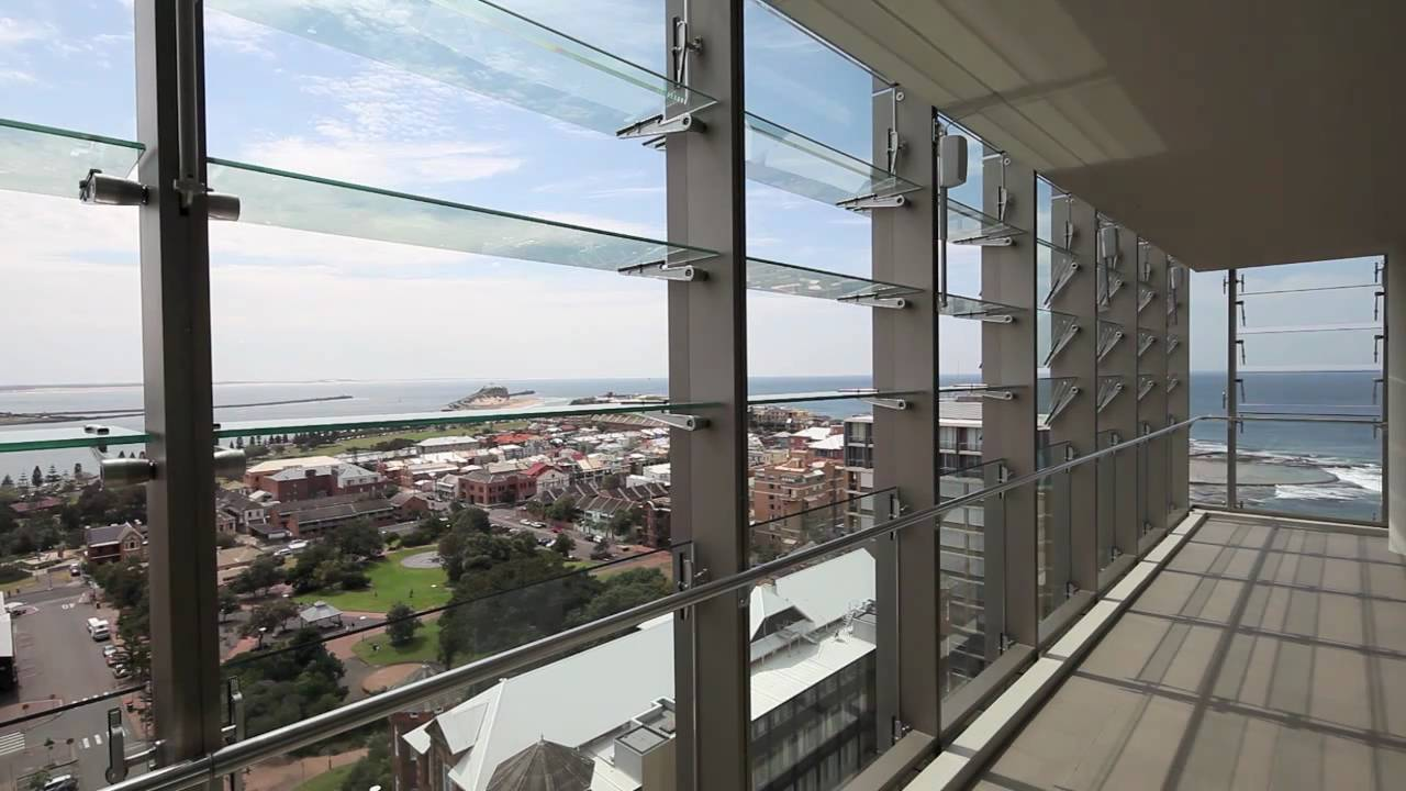 Agp Fineline Series Glass Louvres The Royal Newcastle