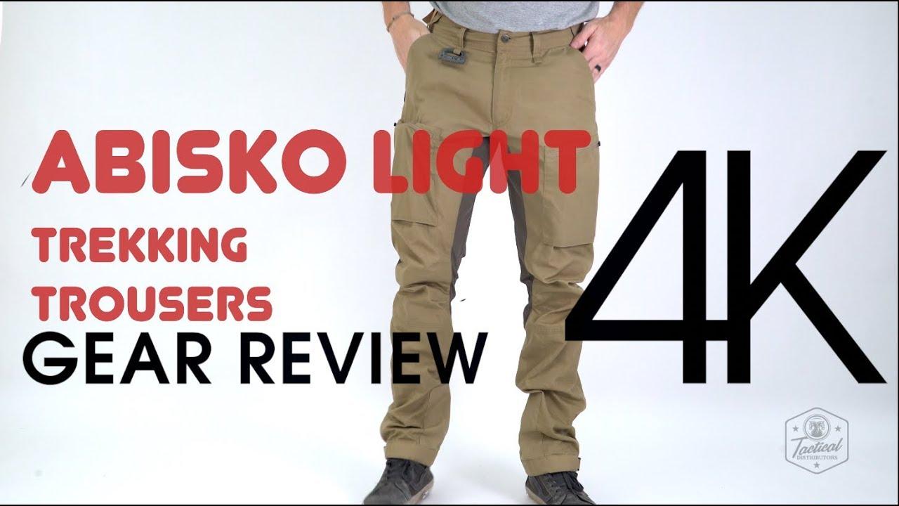 63ff67910e5 Abisko Light Trekking Trousers - Fjallraven - YouTube
