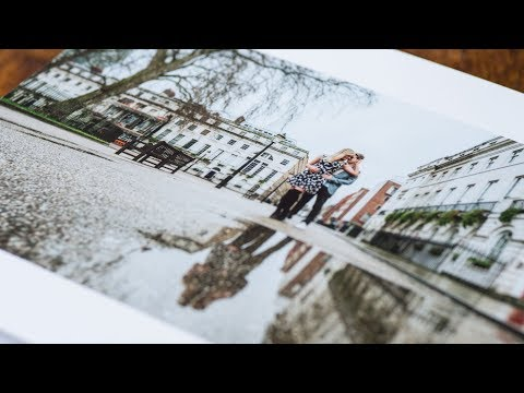 Engagement Pre-Wedding Books by gavin conlan photography