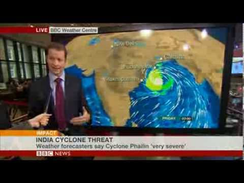 Cyclone Phailin: BBC World's Newsroom