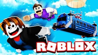 It was his FIRST time playing Roblox ISLAND ROYALE... and WE WON!