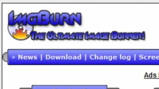 How to burn Videos to a CD or DVD with ImgBurn