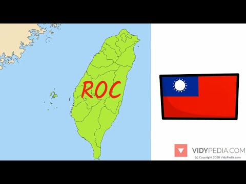 Taiwan Republic of China - History and Geography in 3 minutes - mini history - mini geography