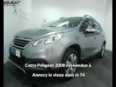 peugeot 2008 occasion visible annecy le vieux pr sent e par peugeot annecy youtube. Black Bedroom Furniture Sets. Home Design Ideas