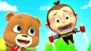 Jet Pack | Fun Videos For Kids | Cartoons For Children By Loco Nuts