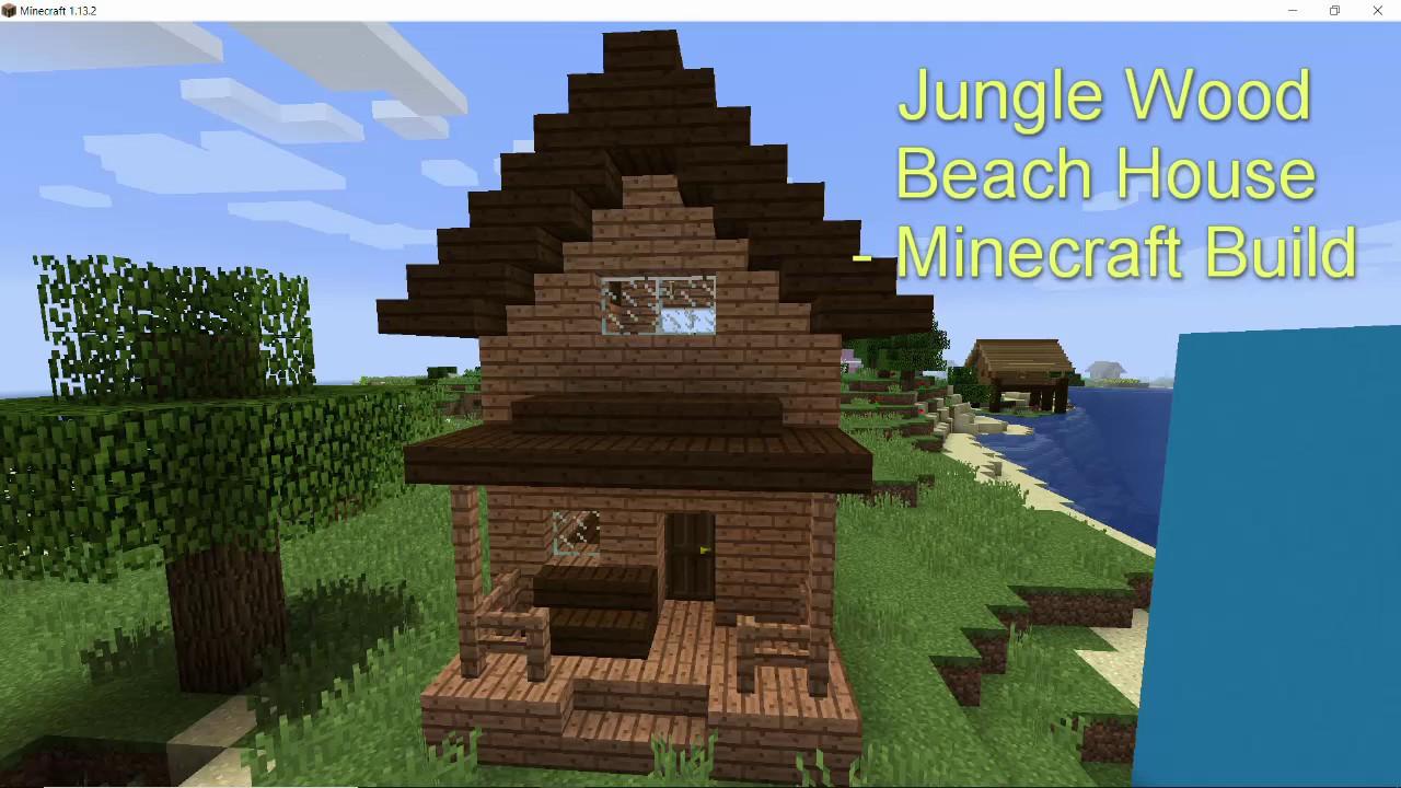 Jungle Wood Beach House - Minecraft Build