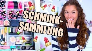 Meine SCHMINKSAMMLUNG! ♡ BarbieLovesLipsticks