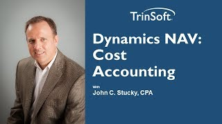 Dynamics NAV: Cost Accounting