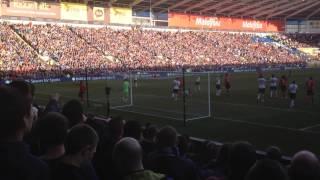 Cardiff City FC Vs Fulham FC Steven Caulker Goal 08/03/2014