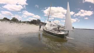 Old Gaffers Of Wa C-fleet Sail Along The Peel-harvey Estuary