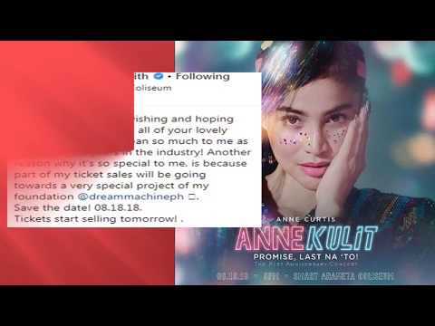 ANNE CURTIS Excited na for her ANNE KULIT CONCERT!!!