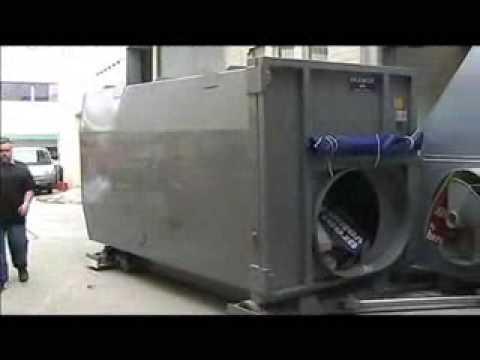 PAKMOR Waste Equipment Pty Ltd - Sliding Auger Compactor